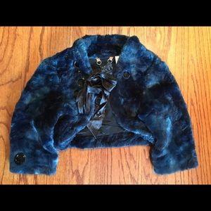 Synthetic bolero fur